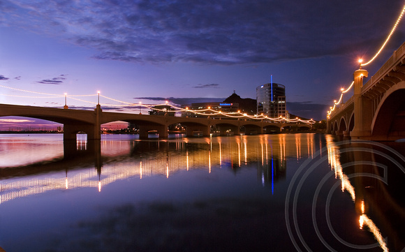 Night Over Tempe Town Lake